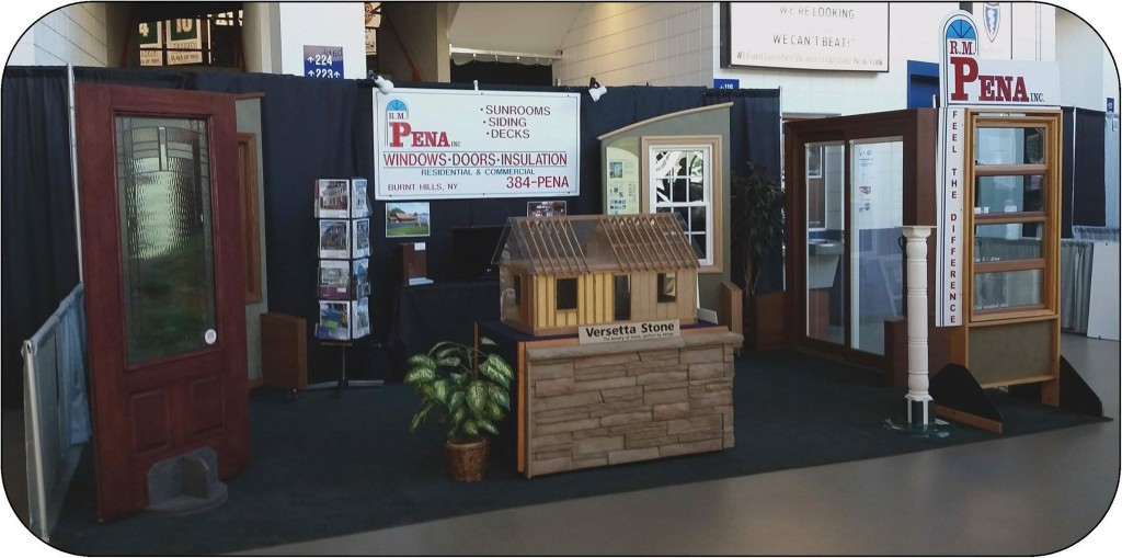 Homeshow booth 2016